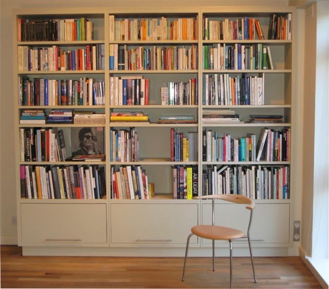 Библиотеки из массива - купить мебель от производителя в мос.